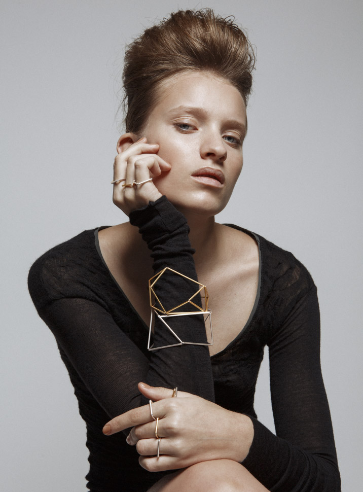 Noshi at HOMI Fashion&Jewels_ORIGAMI Cuffs QUADRO Rings
