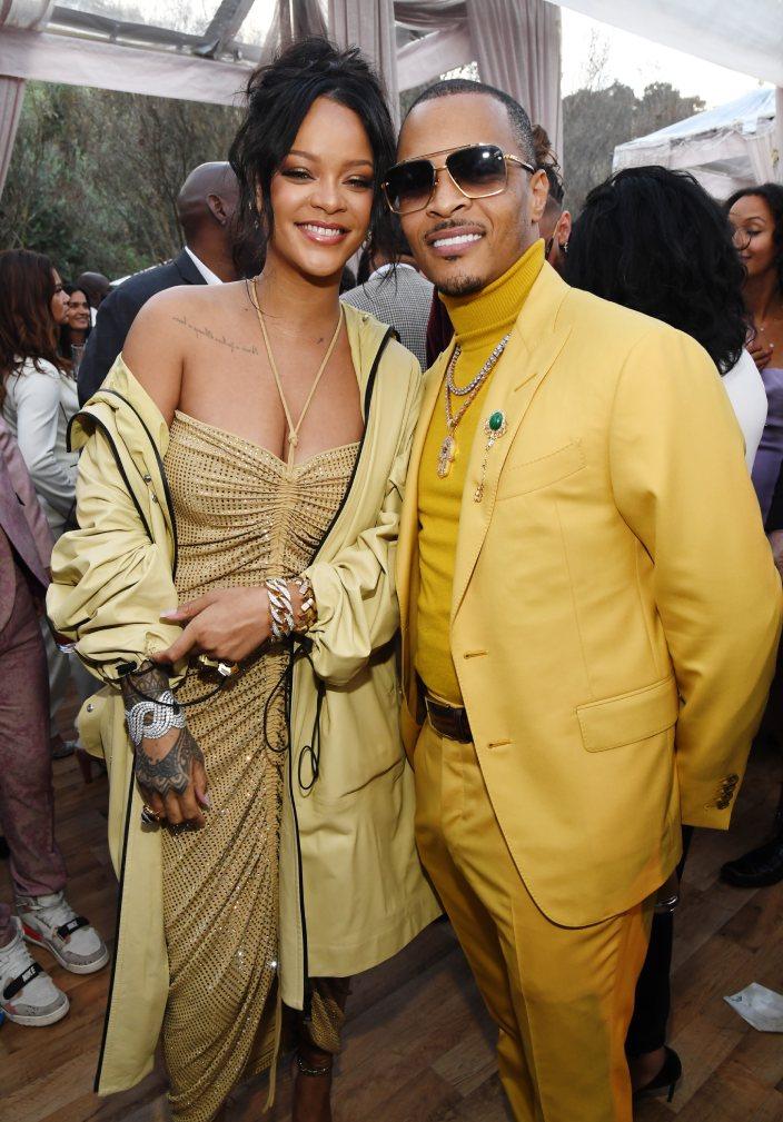 Rihanna wore Bottega Veneta Pre Fall 2020