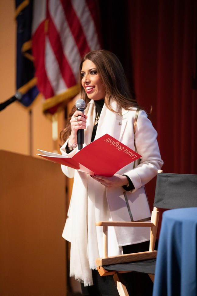 Lavinia Biagiotti Cigna - Lecture Thomas Jefferson University (photo by © Gary G Schempp
