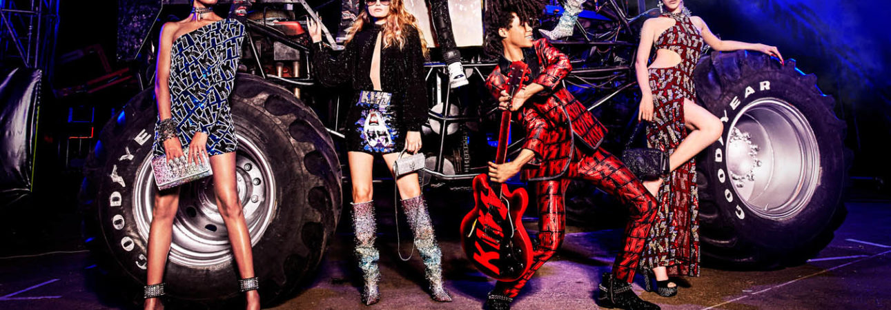 Philipp Plein - Monsters of Rock Spring Summer 2020 ADV campaign by Ellen Von Unwerth