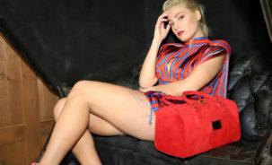 """L'attrice della serie tv di ,""""Furore 2"""" Raffaella Di Caprio brand ambassador di Carla Sanchez"""