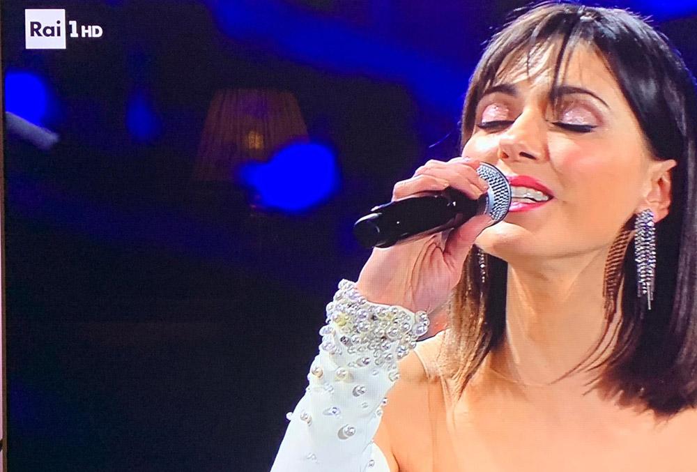 Simona Molinari indossa i gioielli Ottaviani