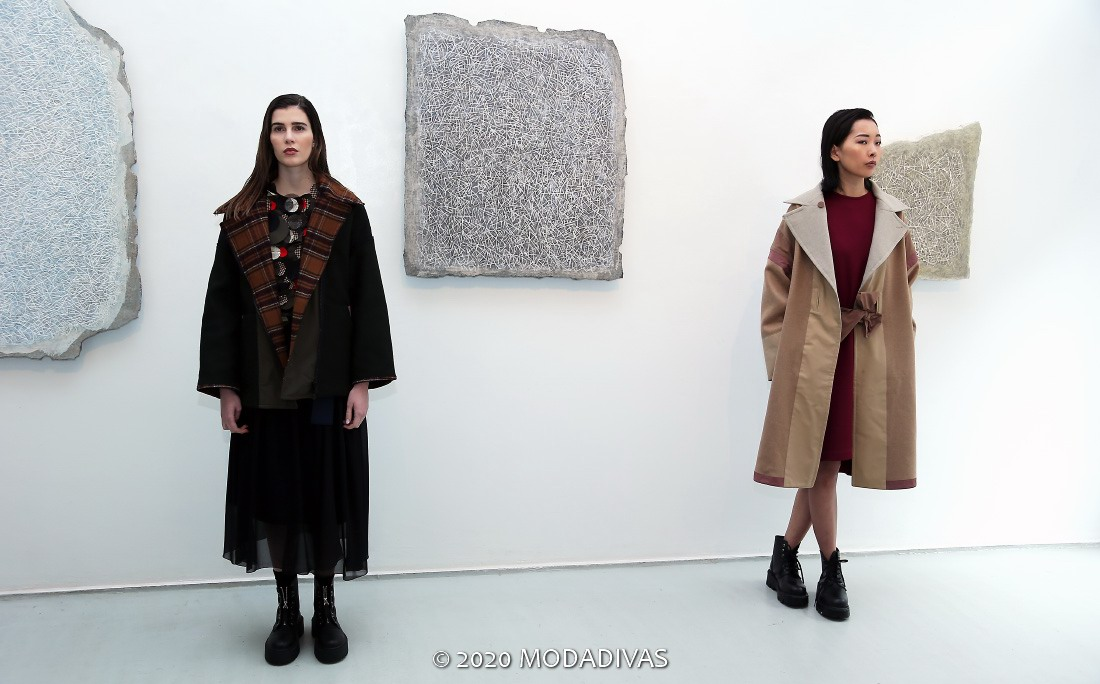 Francesca Marchisio Fall Winter 2020/21 collection (photo by Giuseppe Spena)