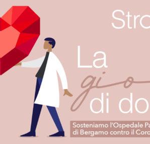 Stroili: Al via la gara di solidarietà a favore dell'Ospedale Papa Giovanni XXIII di Bergamo