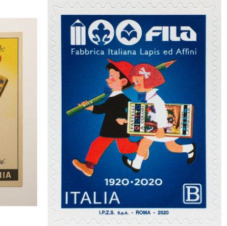 FILA Fabbrica Italiana Lapis ed Affini - Francobollo FILA