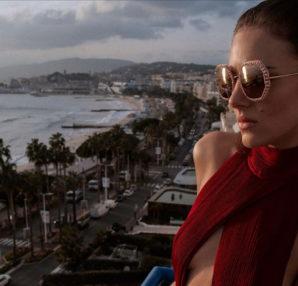 Eliza Cummings . Chopard Eyewear Red Carpet Limited Edition 2020