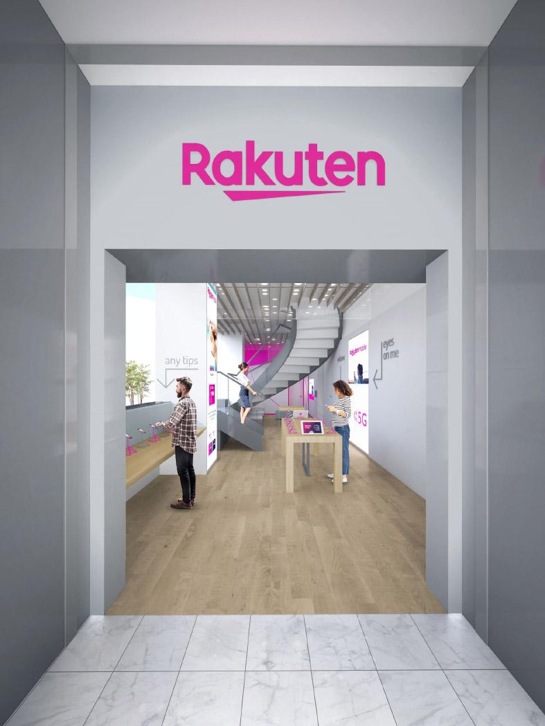 Pinifarina Rakuten mobile Shibuya