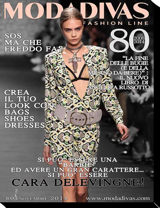 Cara Delevingne Modadivas digital cover April 2014 . photo by Giuseppe Spena