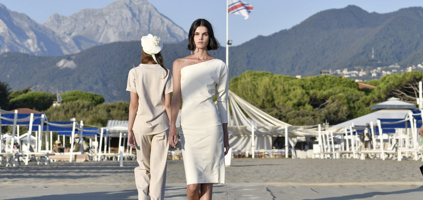 Forte dei Marmi. Sfilata Chiara Boni . Spring Summer 2020 collection