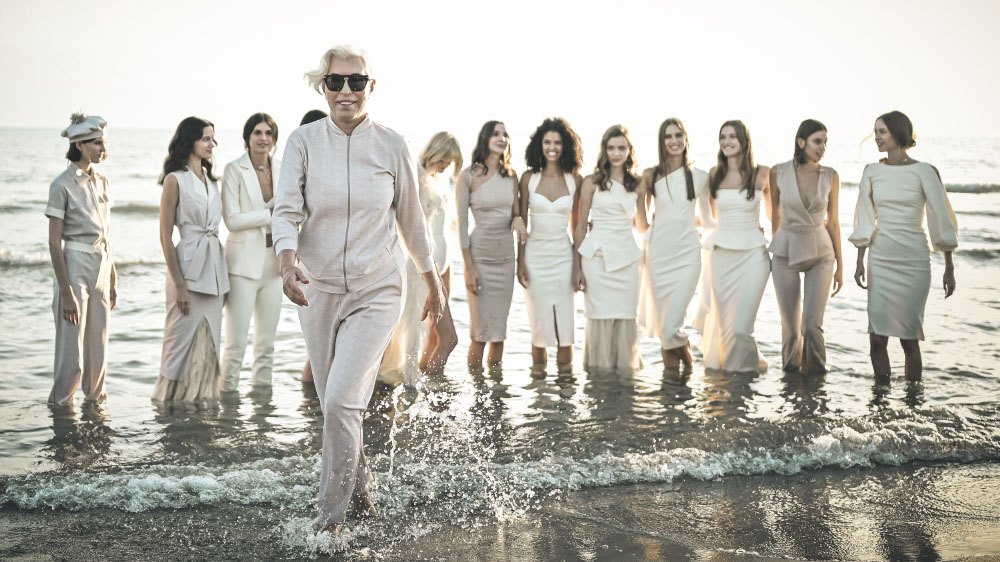 Forte dei Marmi. Sfilata Chiara Boni . Spring Summer 2020 collection