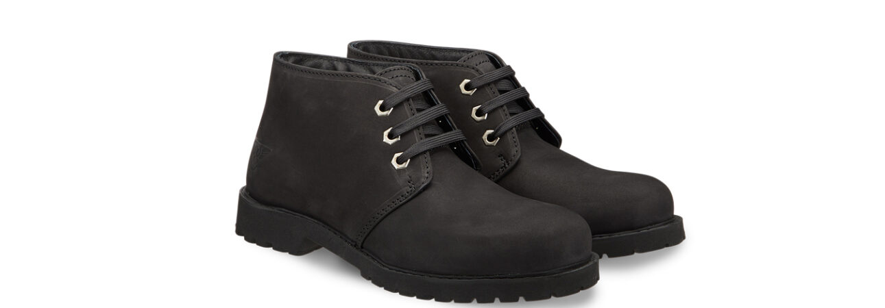 """The outdoor autumn to experience with Docksteps boots - Stivaletto in pelle nera """"Light"""""""