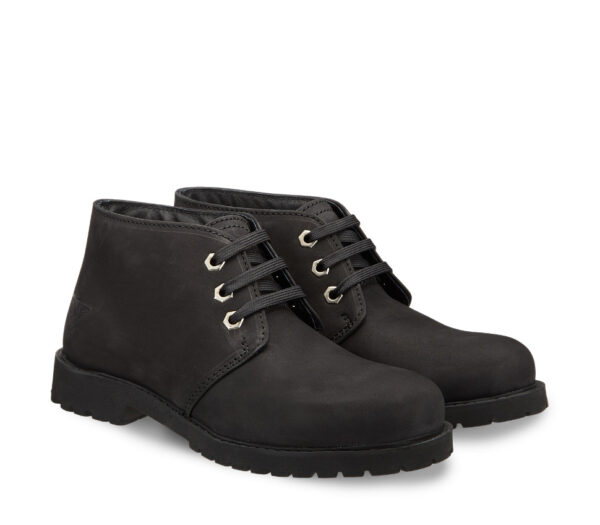"""The outdoor autumn to experience with Docksteps boots - Black leather ankle boots """"Light"""""""
