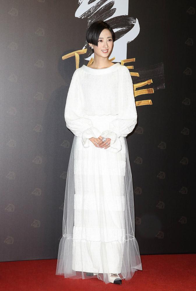 桂綸鎂 Gwei Lun Mei ha indossato Chanel al 57esimo Golden Horse Awards in Taiwan