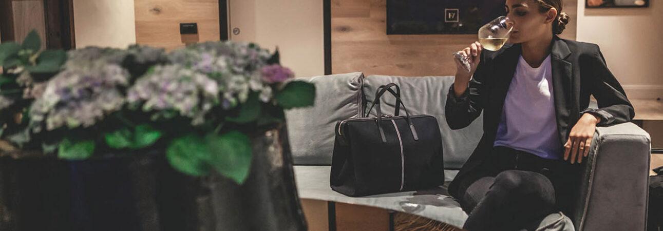 "Rachele-Cotton-Canvas-Black-Black - Nosetta Fall Winter 2020/21 ""bags"" collection"