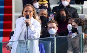 Jennifer Lopez wore Chanel at the Presidential Inauguration in Washington