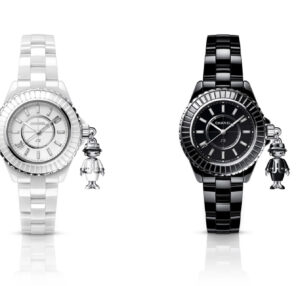 Chanel MADEMOISELLE J12 ACTE II Limited edition of 555 pieces. White highly
