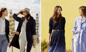 Uniqlo | Ines de la Fressange Spring Summer 2021 Collection: Deauville Inspiration