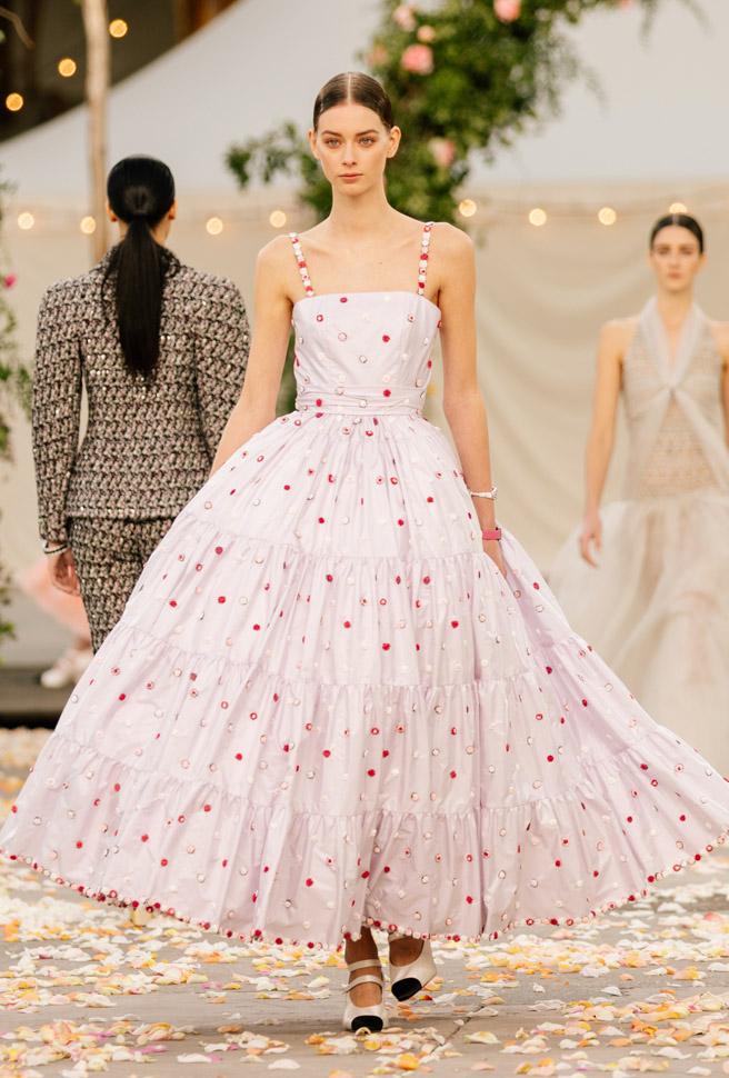 Chanel collezione Haute Couture Primavera Estate 2021