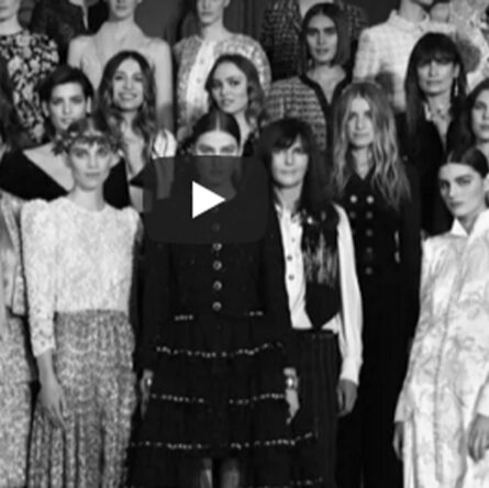 Chanel video haute couture runway