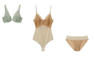 """Body della nuova collezione """"Nature's Dream"""" di Intimissimi, pizzi di Tessitura Colombo con ROICA™ EF"""
