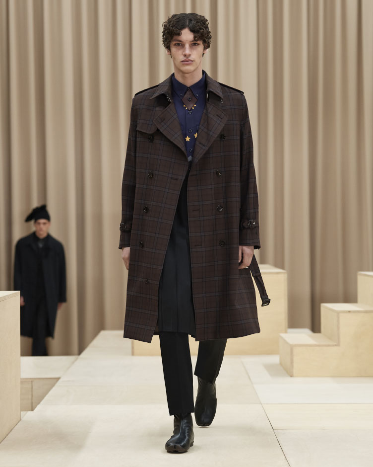 Burberry new Fall Winter 2021/22 men's collection
