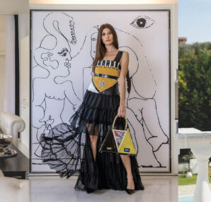 """Cassiopea"" is the new 2021 collection by the designer Eleonora Altamore inspired by futurism"