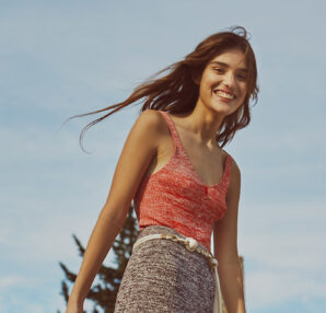 """Claudie Pierlot Spring Summer 2021 capsule collection """"Ode to Freedom"""""""