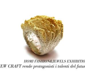 HOMI FJ Exhibition_Cecilia Ribeiro from Collectiva Joalharia De Autor_Anello in argento e calcare