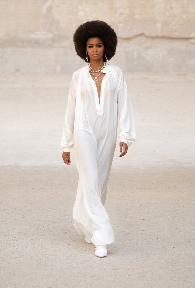 Blesnya Minher - Chanel Cruise 2021/22 collection