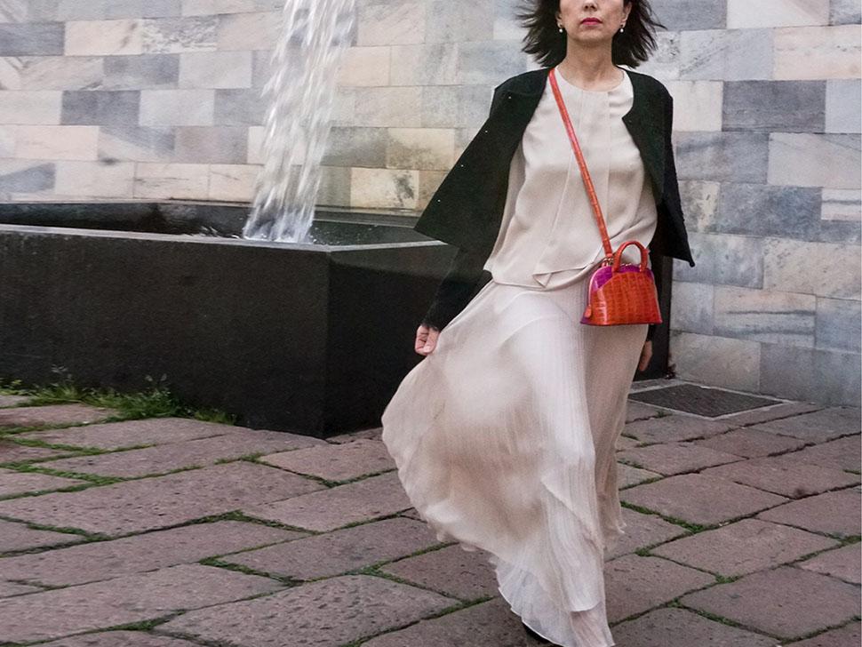 GiGiòsa Milano lancia Twiggy, la minibag con nuance anni 60