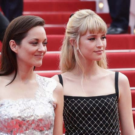 Marion COtillard and Angele wore Chanel at 74° Cannes International Film festival - photo by Vittorio Zunino Celotto