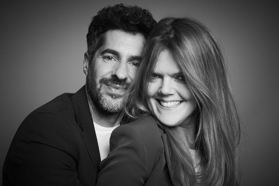 Katia Simionato CEO KNTNR e Christian Nucibella CEO&Founder FiloBlu