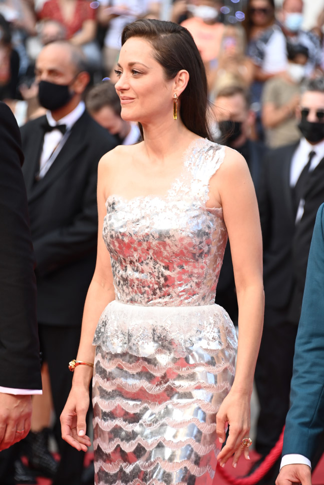 Marion Cotillard wore Chanel at 74° Cannes International Film festival - photo by Daniele Venturelli