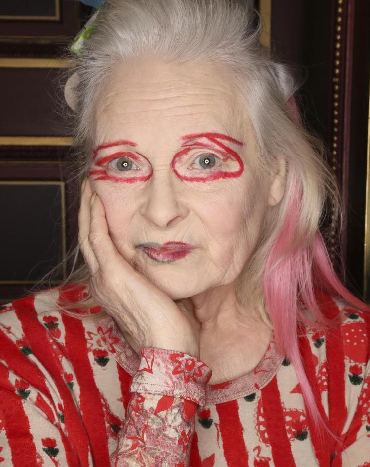 One of the latest rebels, Vivienne Westwood