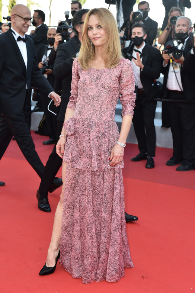 Vanessa Paradis, wore Chanel at 74° Cannes International Film festival - photo by Dominique Charriau