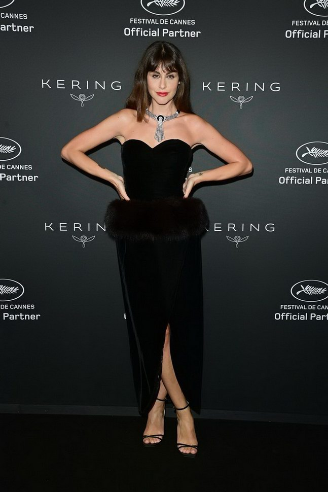 Nour Arida wore Boucheron at 74° Cannes International Film festival