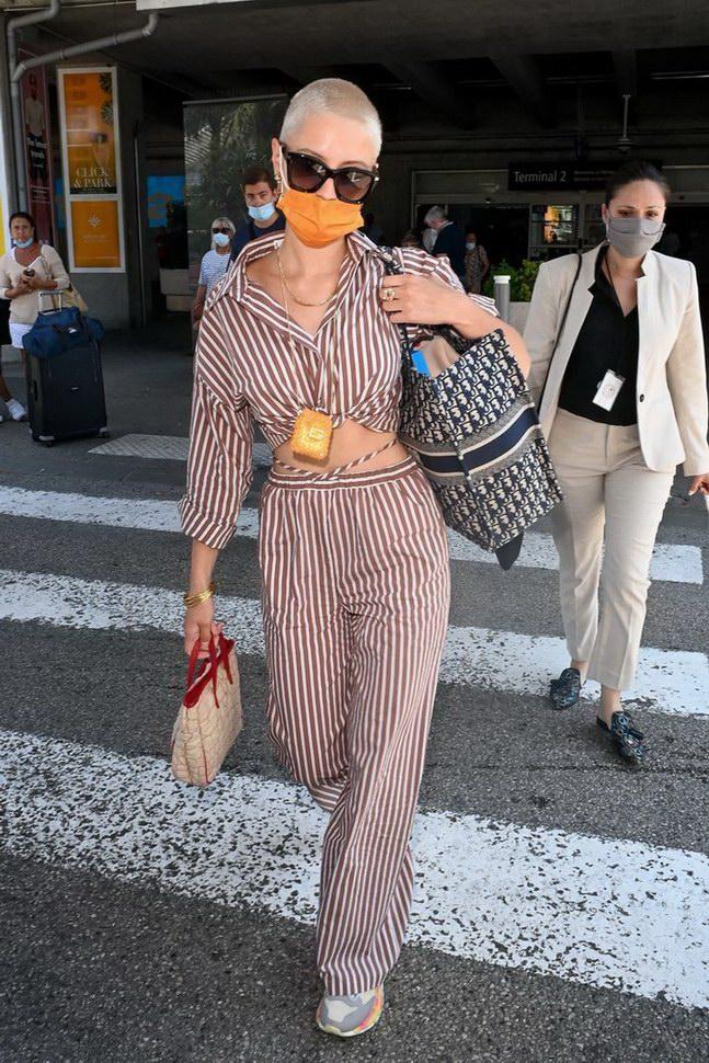Iris Law wore Mango at 74° Cannes International Film festival