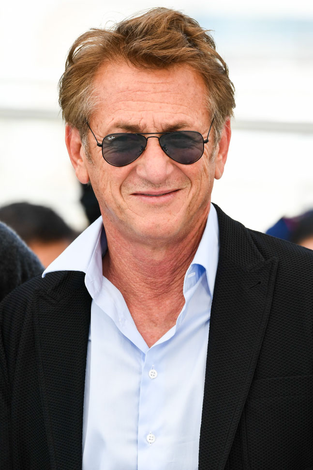 Sean Penn wore Ray-Ban Aviator at 74° Cannes International Film festival - photo by Alfonso Catalano