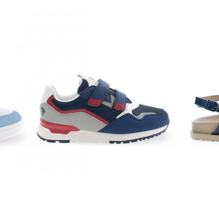 The chic style of U.S. POLO ASSN. Kids shoes Spring Summer 2022