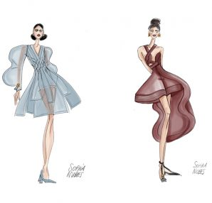 Sophia Nubes haute couture New York Fashion Week