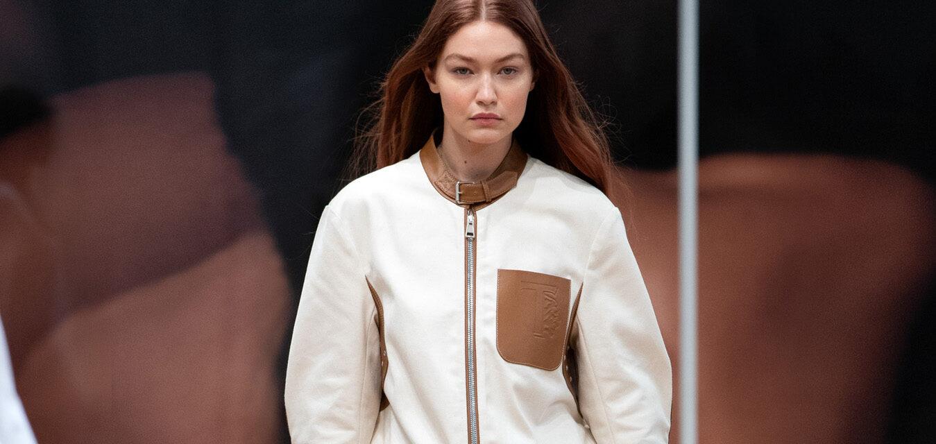 Gigi Hadid Tod's new Spring Summer 2022 Women's Collection An Italian light life