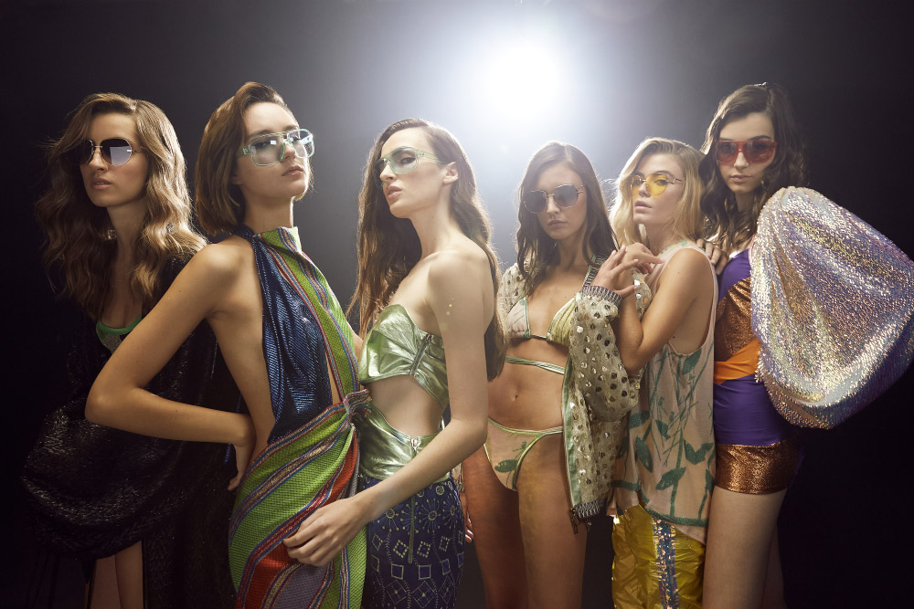 Custo Barcellona presents a preview i trust me at New York Fashion Week
