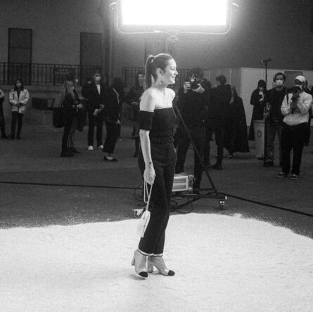Marion Cotillard in Chanel special guests at Chanel Spring Summe