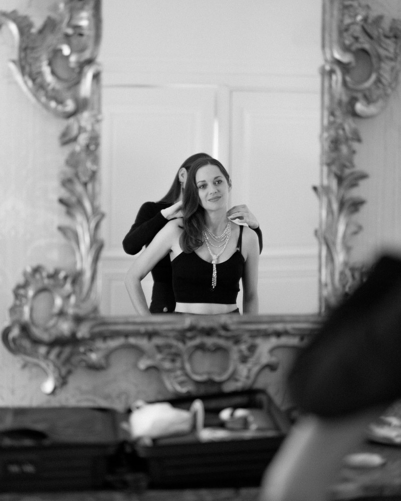 Marion Cotillard, attrice e produttrice francese e ambasciatrice di Chanel