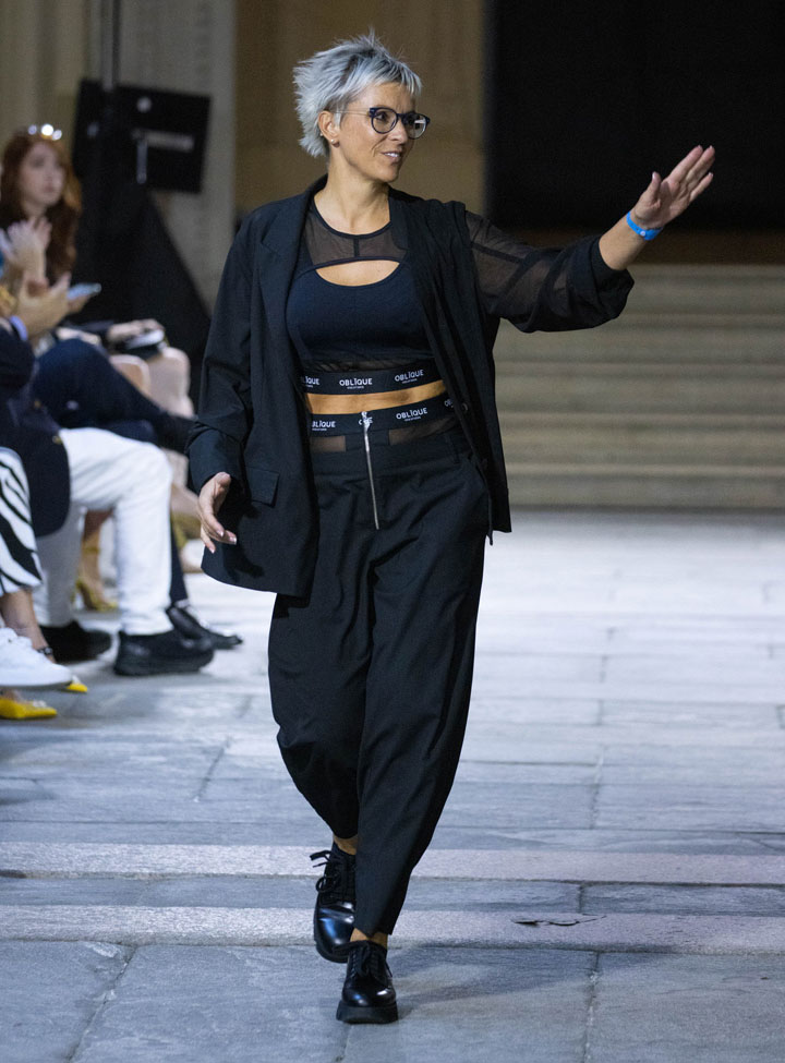 Alessia Petrenko (creative director ) Oblique Creations Spring Summer 2022 collection at Ray of Sunshine