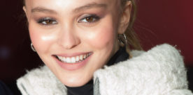 Lily-Rose Depp wore Chanel at the Christmas Lights Launch on the Champs Élysées in Paris