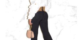 Beyoncé in Chiara Boni Venusette pants
