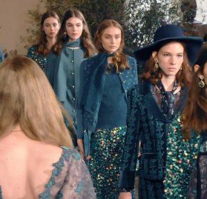 Una fiaba in giacca e pantalone – Luisa Beccaria collezione Autunno Inverno  2018 19 5f47411dd62