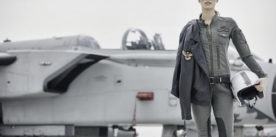 Minimalism and sporty attitude in the new Aeronautica Militare's woman collection- Fall Winter 2017/2018 collection