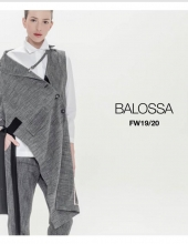 Balossa Fall Winter 2019/20 collection .White
